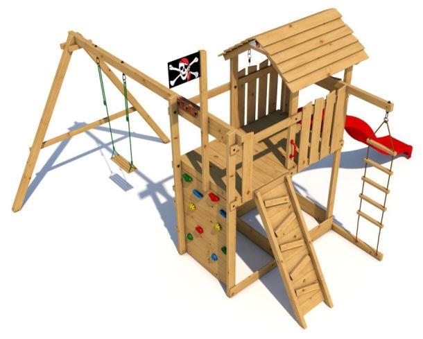 Dětské hřiště Monkey´s Home Velký pirát DAN