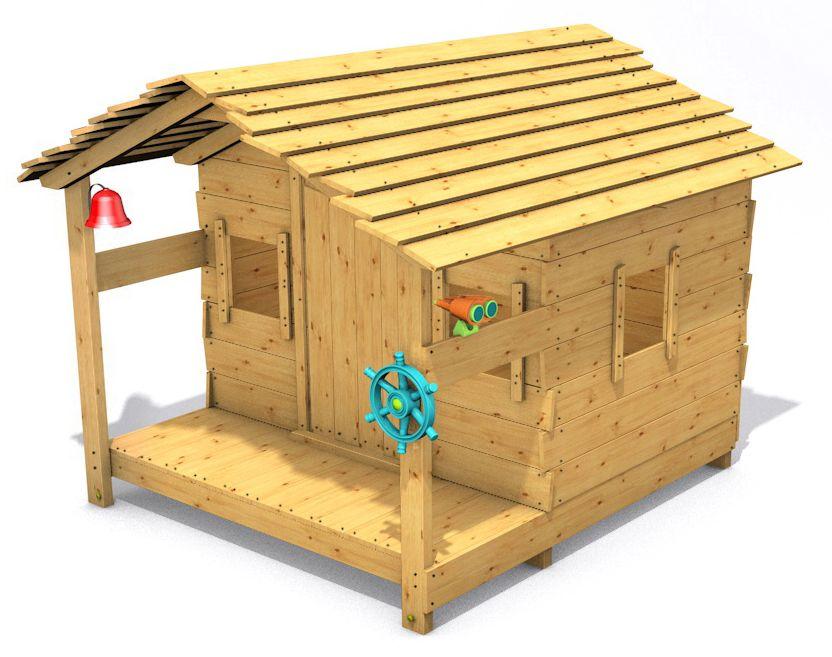 Dětský domeček Monkey´s Home Chatrč pirát Peter