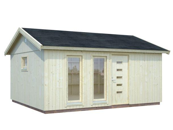 Zahradní dům NORDIC+ CHARLOTTE 21,5 m2 448x548 cm
