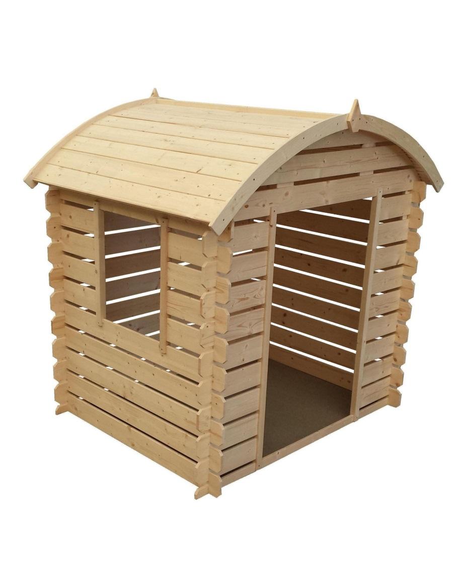 Dětský dřevěný domek M505C