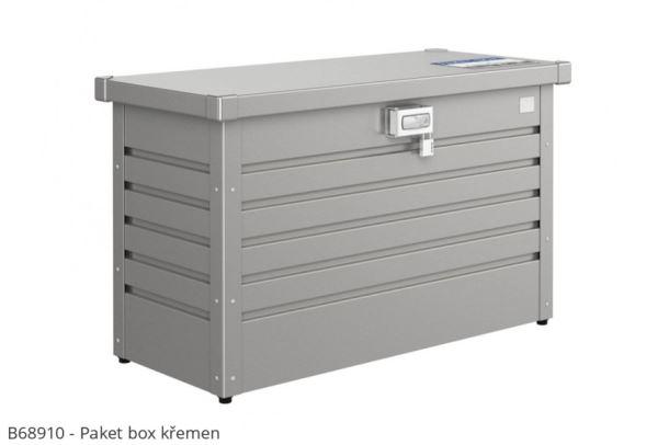 Biohort Box na balíky Paket-Box šedý křemen metalíza