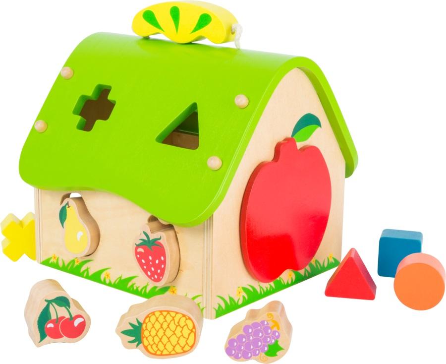 Třídící ovocný domeček .