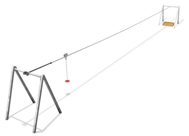 Monkey's lanovka délka 20m METAL