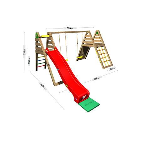 DĚTSKÁ SESTAVA Monkey´s Home HONZÍK 150 B