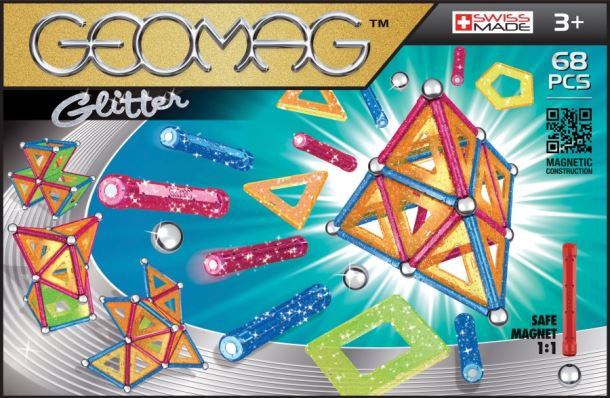Geomag Glitter 68ks