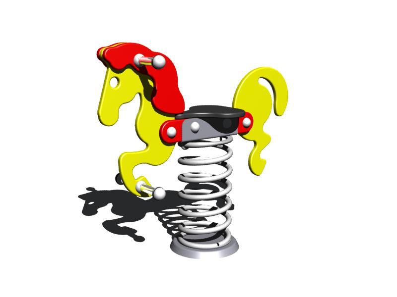 Pružinová houpačka Monkey's -  Koník Bony