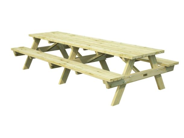 Zahradní dřevěný piknikový stůl PALMAKO RUBBY 30 - zelená impregnace