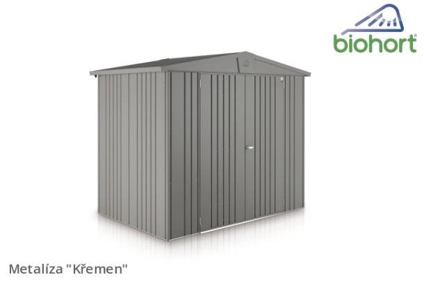 Biohort Zahradní domek EUROPA 7, šedý křemen metalíza
