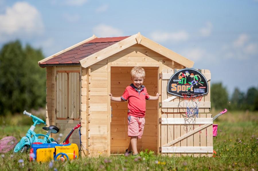 Dětský dřevěný domek M516