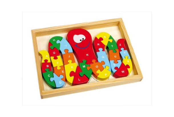 Puzzle dřevěné Chobotnice