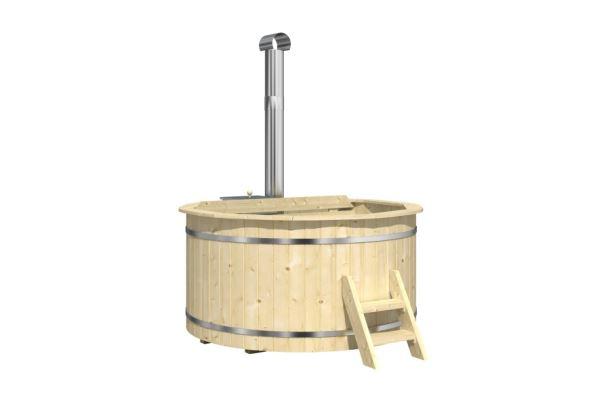 Hot Tub 180 thermowood koupací sud s vnitřními kamny