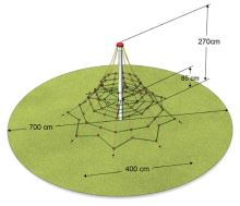 Lanová pyramida Monkey's HEROLD 2700