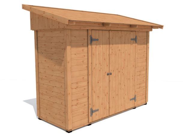 Zahradní domek HEROLD P2711a 2,4 m2