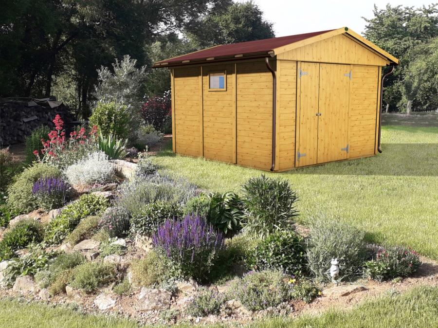 Zahradní domek HEROLD A3333a 9,6 m2