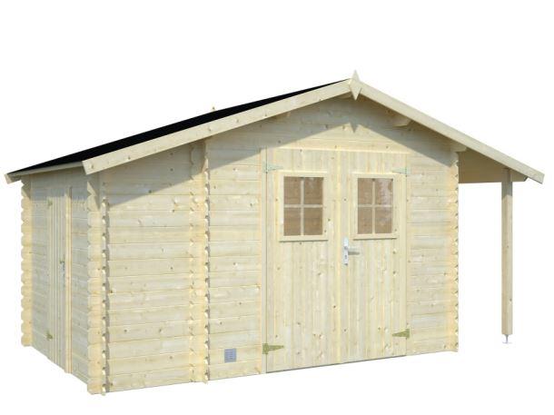 Zahradní domek EKO-LINE Meribel 5,1 + 1,5 m2