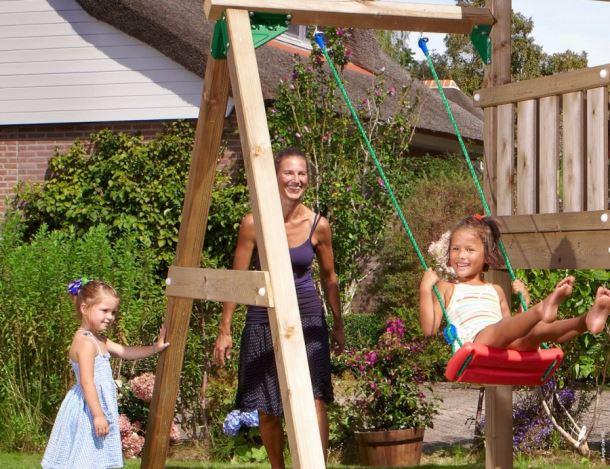 PŘÍSTAVEK K HŘIŠTI Jungle Gym Swing Module s jednou houpačkou