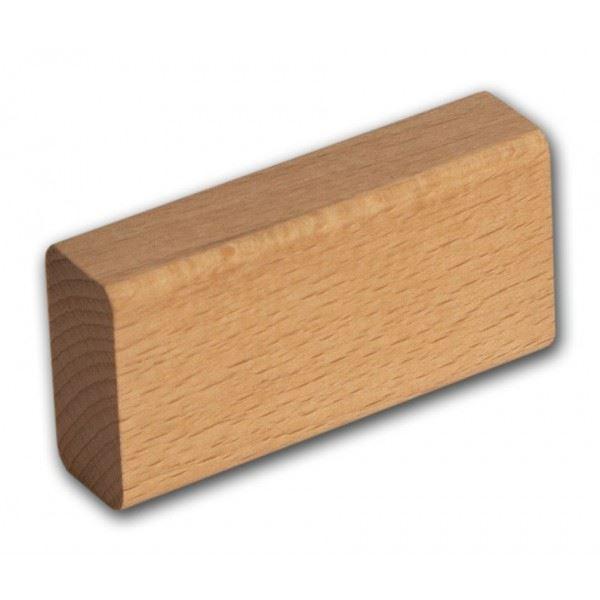 Dřevěná kostka velká deska 16,5x33x99mm