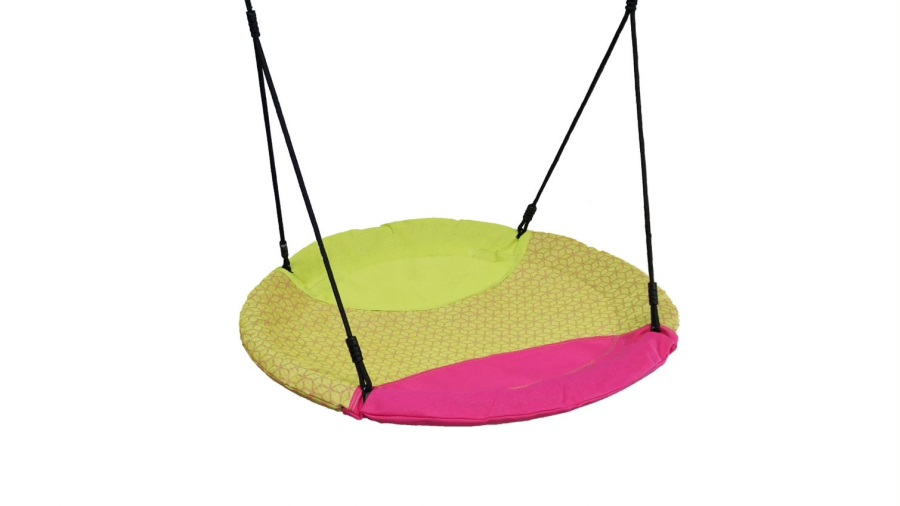 Houpačka Monkey´s Home hnízdo WINKOH barevná