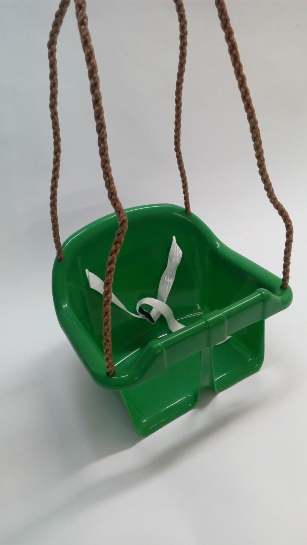 Houpačka dětská plastová Herold SVĚTLE ZELENÁ