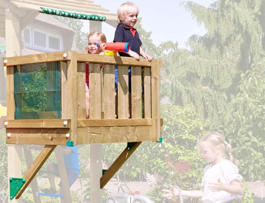 PŘÍSTAVEK K HRACÍ SESTAVĚ Jungle Gym Balcony Module