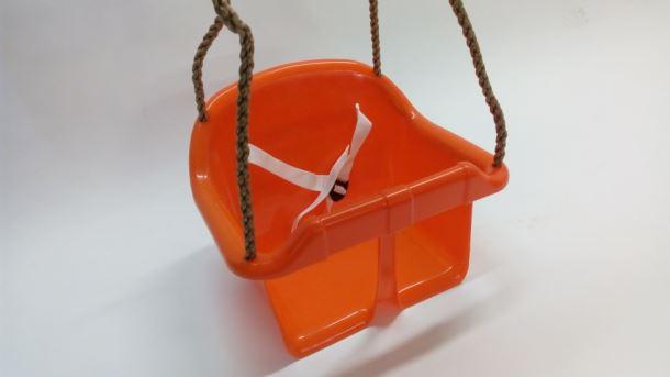 Houpačka dětská plastová Herold ORANŽOVÁ