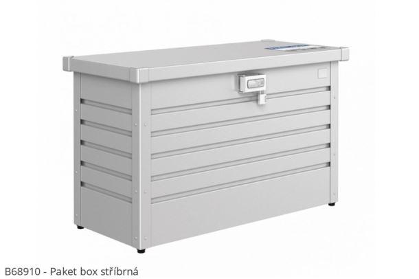 Biohort Box na balíky Paket-Box stříbrná metalíza