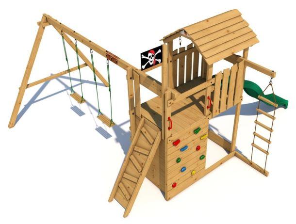 Dětské hřiště Monkey´s Home Velký pirát BILL