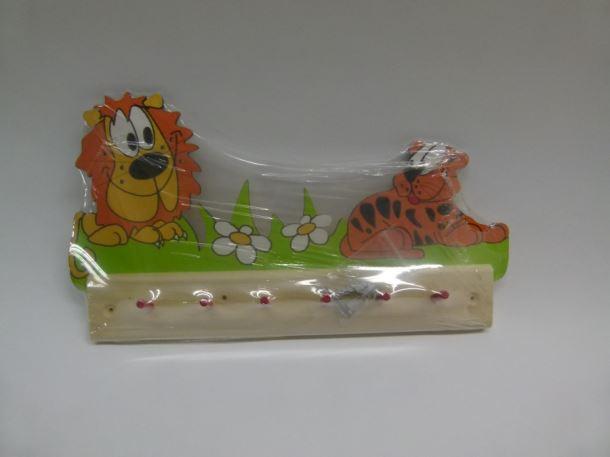 Věšák Tygr a lev