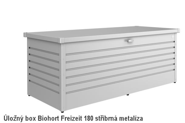 Biohort Úložný box FreizeitBox 180, stříbrná metalíza