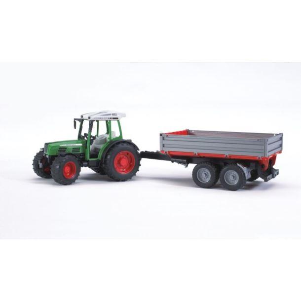BRUDER - Traktor FENDT 209S  se sklápěcím vozem