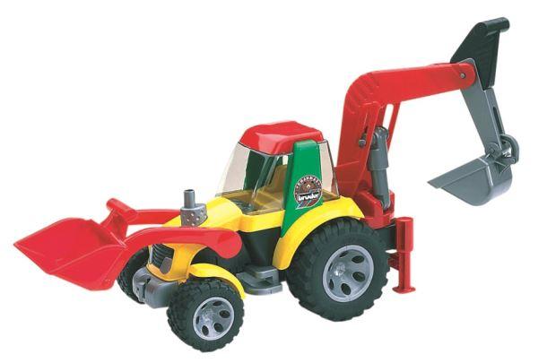 BRUDER-Traktor nakladač Roadmax