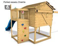 Dětský domeček Monkey´s Home Chatrč pirát Storm