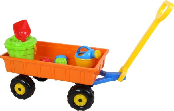 Hračky na pískoviště - sada vozík