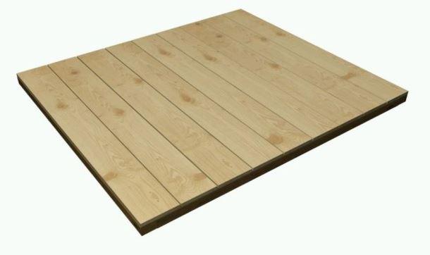 Podlaha pro zahradní domek P2711
