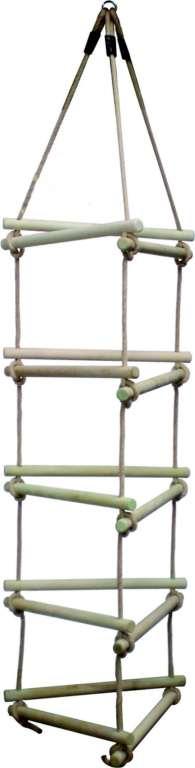 PROVAZOVÝ ŽEBŘÍK MH do trojúhelníku 2,10 m