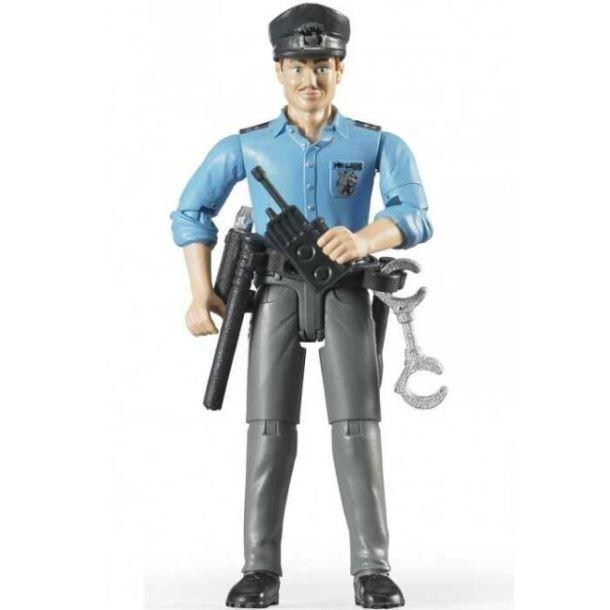 BRUDER - BWORLD Figurka policista s příslušenstvím