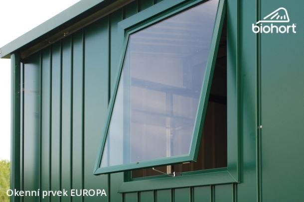 Biohort Okenní prvek pro EUROPA, šedý křemen metalíza
