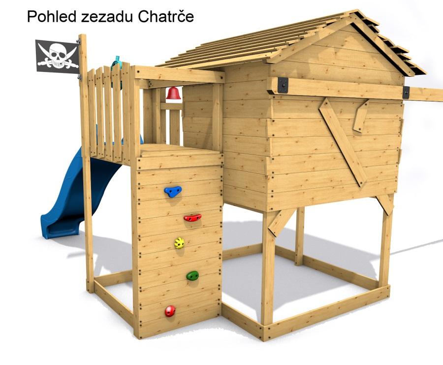Dětský domeček Monkey´s Home Chatrč pirát Morgan
