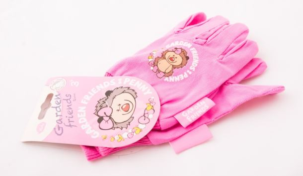 Dětské nářadí RUKAVICE bavlněné růžové
