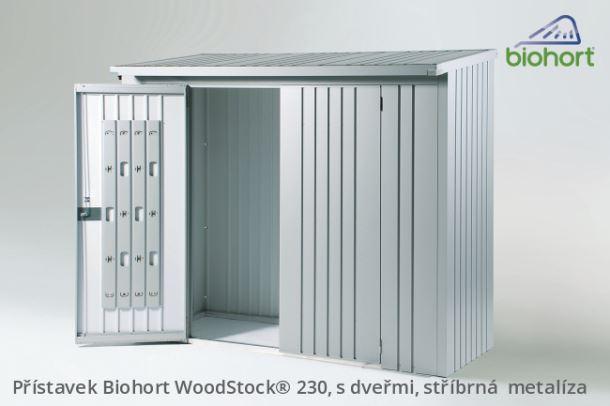 Biohort Dveřní set WoodStock® 230, tmavě šedá metalíza