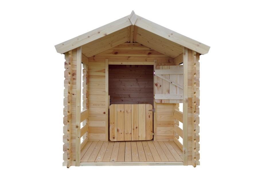 Dětský dřevěný domek M501 175x130x 145cm