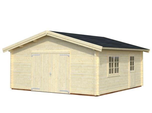 GARÁŽ Roger 27,7 m2 + dřevěná vrata