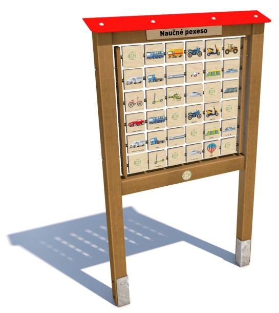 Monkey's Edukační panel I. - Dopravní prostředky