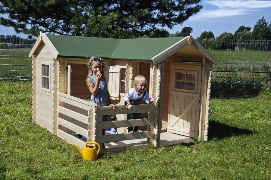 Dětský dřevěný domek M509