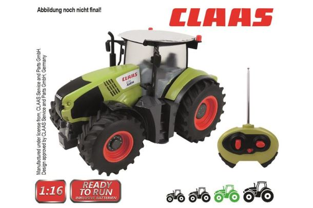 Traktor Claas na dálkové ovládání