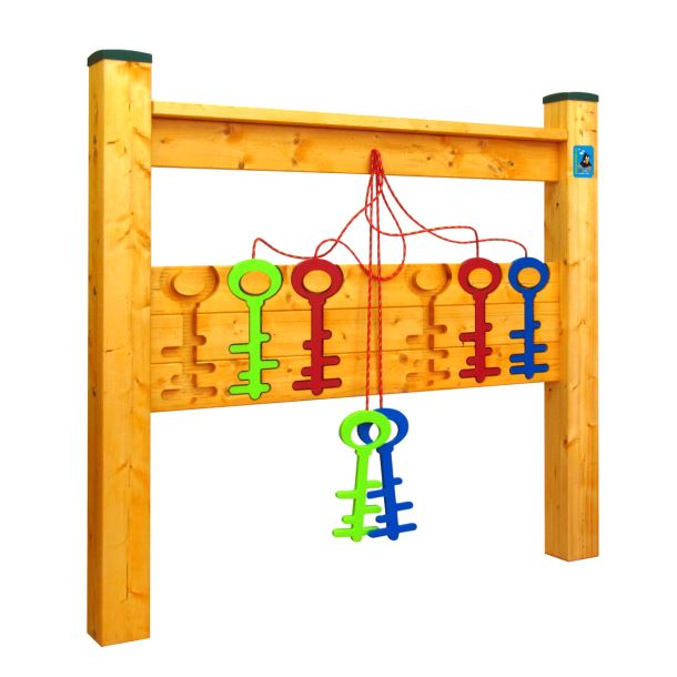 Hra na zahradu - Barevní Klíče