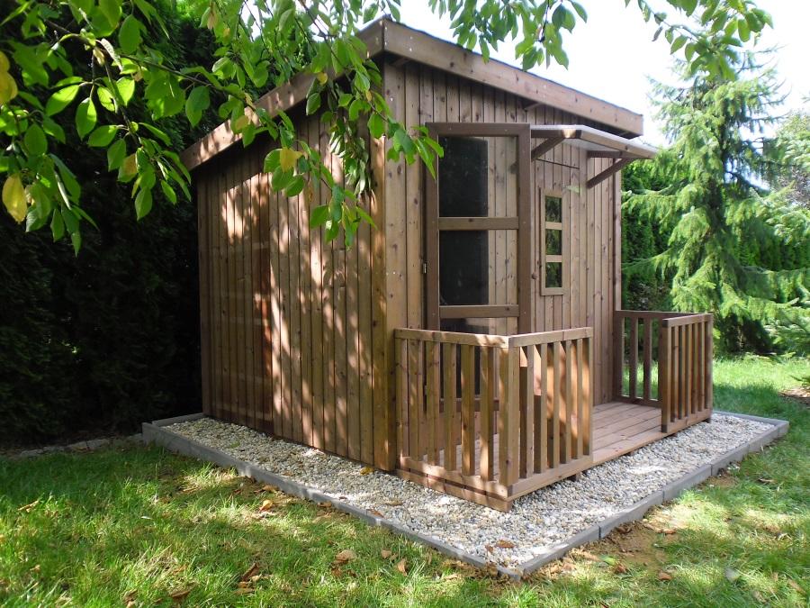 Dětský domek HARRY  (199cm x 163cm) tl.  16mm