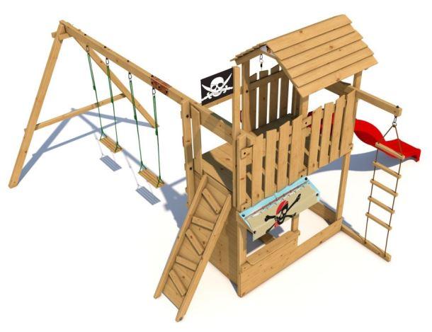Dětské hřiště Monkey´s Home Velký pirát LADY