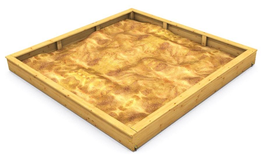 Monkey's pískoviště SMALL 400 x 400 cm