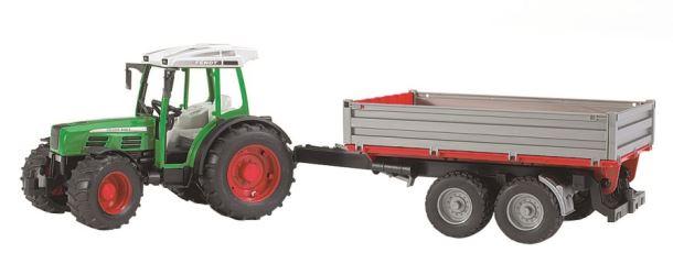 BRUDER- Traktor Frendt 209S se sklápěcím vozem